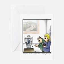 GOLF 073 Greeting Card