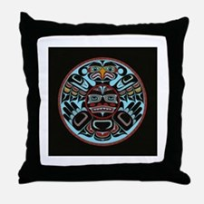 Transforming Thunderbird Throw Pillow