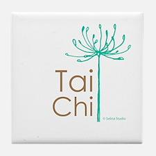 """Tai Chi Growth 2""' Tile Coaster"