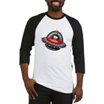 Evil Space Penguin Baseball Jersey