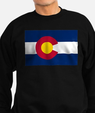 Colorado State Flag Sweatshirt (dark)