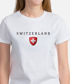 Switzerland Shield-Dark T-Shirt