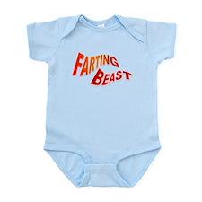 Farting Beast Infant Bodysuit