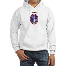 Fort Myer with Text Hoodie