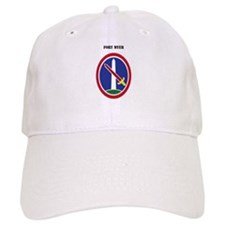 Fort Myer with Text Baseball Cap