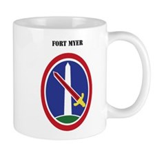 Fort Myer with Text Small Mug