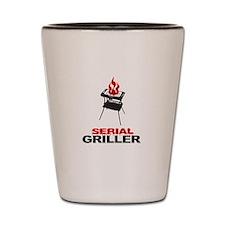 serial griller Shot Glass