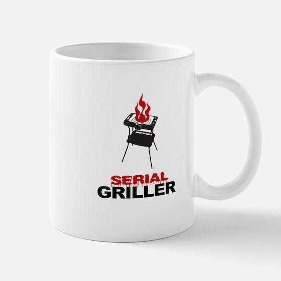 serial griller Mug