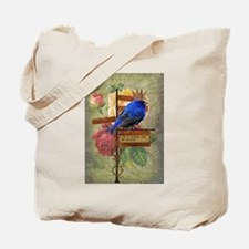 Whimsy Collage Art Tote Bag