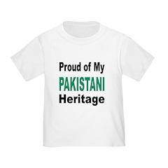 Proud Pakistani Heritage (Front) T