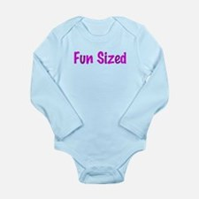 Fun Sized Long Sleeve Infant Bodysuit