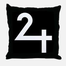 Symbol: Jupiter Throw Pillow