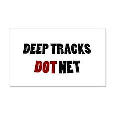 Deep Tracks Red Dot Wall Decal