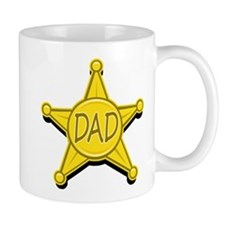 Dad's Law Badge Mug