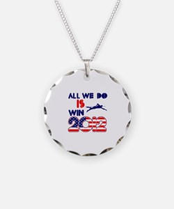 USA Swimming Designs Necklace