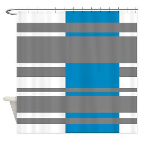 Modern Stripes design Shower Curtain