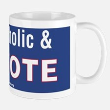 I'm Catholic and I Vote Mug