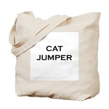 Cat Jump Parkour Tote Bag