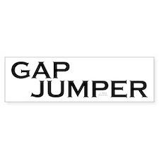 Gap Jump Parkour Bumper Sticker
