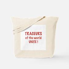 Traceur Tote Bag