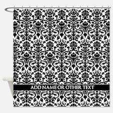 damask pattern custom Shower Curtain