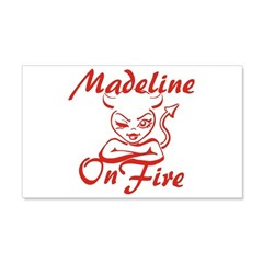Madeline On Fire Wall Decal