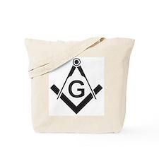 Masonic: Square & Compass Tote Bag