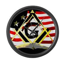 American Masonic Large Wall Clock