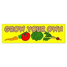 Grow Your Own Car Sticker