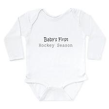 Babys1sthockey Body Suit