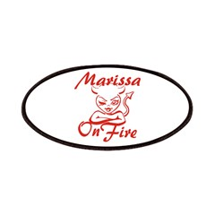 Marissa On Fire Patches