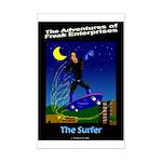 The Surfer Mini Poster Print