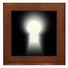 keyhole.jpg Framed Tile