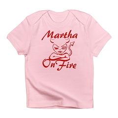 Martha On Fire Infant T-Shirt