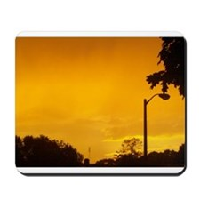 Yellow Twlight Mousepad