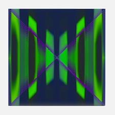 Green Hornet Tile Coaster