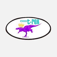 Princess T-Rex Patches