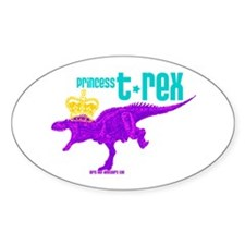Princess T-Rex Decal