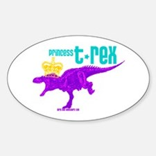 Princess T-Rex Decal