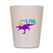 Princess T-Rex Shot Glass