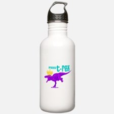 Princess T-Rex Water Bottle