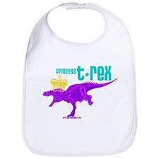 Princess T-Rex Bib