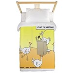 ChickenHead Anonymous Twin Duvet
