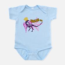 Queen Velociraptor Infant Bodysuit