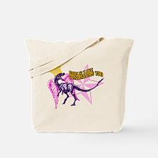 Queen Velociraptor Tote Bag