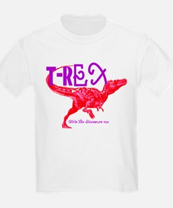 Hot Pink T-Rex T-Shirt