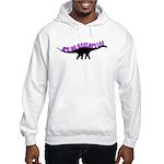 Girls Like Dinosaurs Too - Diplodocus Hooded Sweat