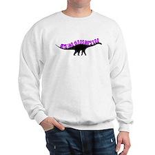 Girls Like Dinosaurs Too - Diplodocus Sweatshirt