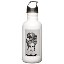 The Cat Lady Water Bottle