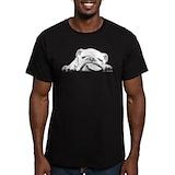 Bulldog Fitted T-shirts (Dark)